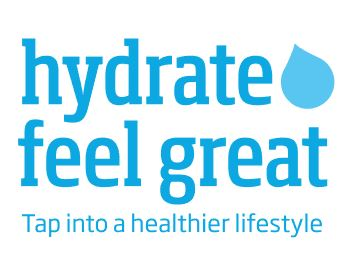 Hydrate feel great logo