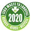 Zero waste to landfill logo